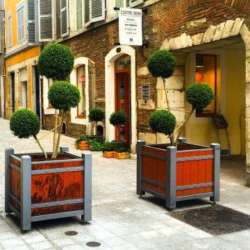 Nouvelle entrée de la rue de Foix