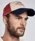 Casquette Trucker Barbour Steve McQueen Navy/Red