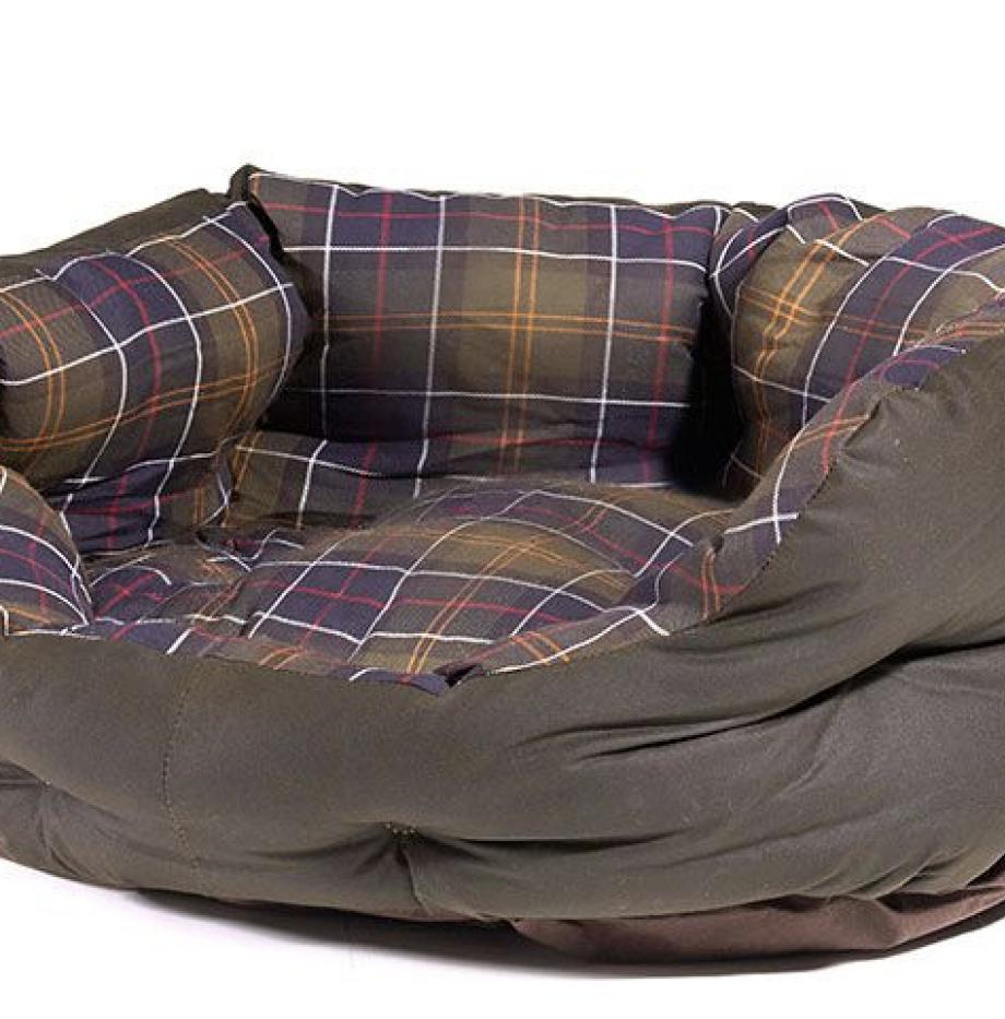Dog_Bed_Barbour_Olive_2