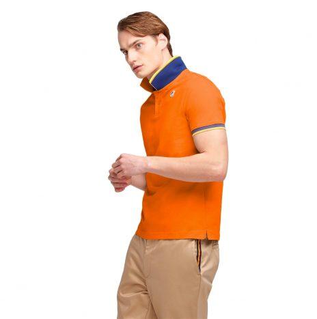 Vincent Polo K-Way Orange