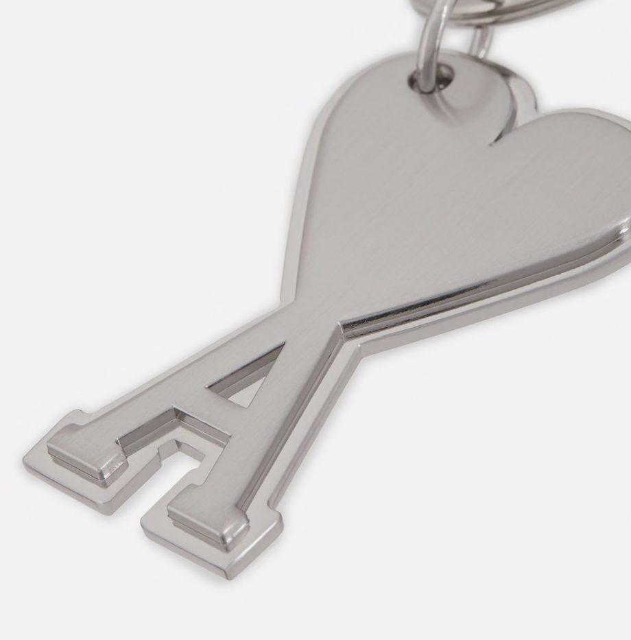 Porte-clés Ami de coeur Argent