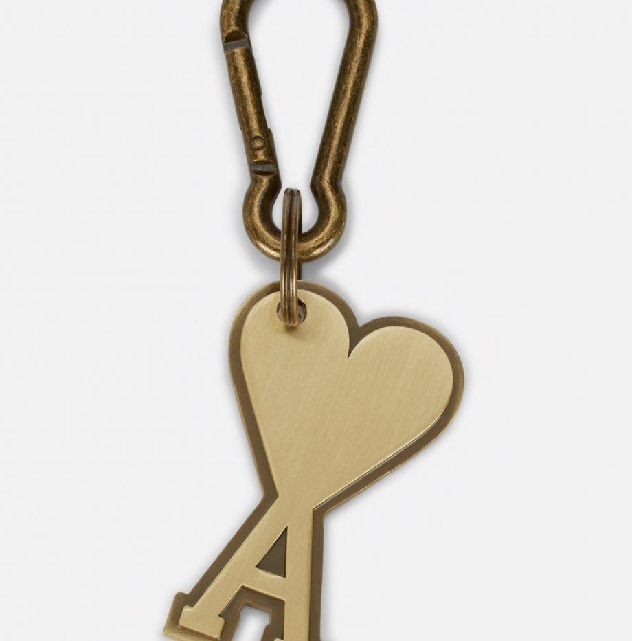 Porte-clés Ami de coeur Laiton