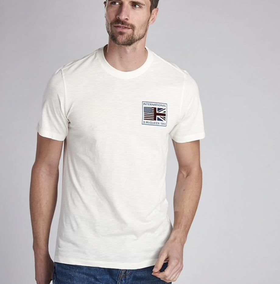 T-shirt_Barbour_Team_Flags_Steve_McQueen_Whisper_White_2