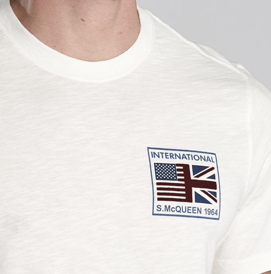T-shirt_Barbour_Team_Flags_Steve_McQueen_Whisper_White_5