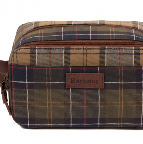 Wash Bag Barbour Mixed Tartan