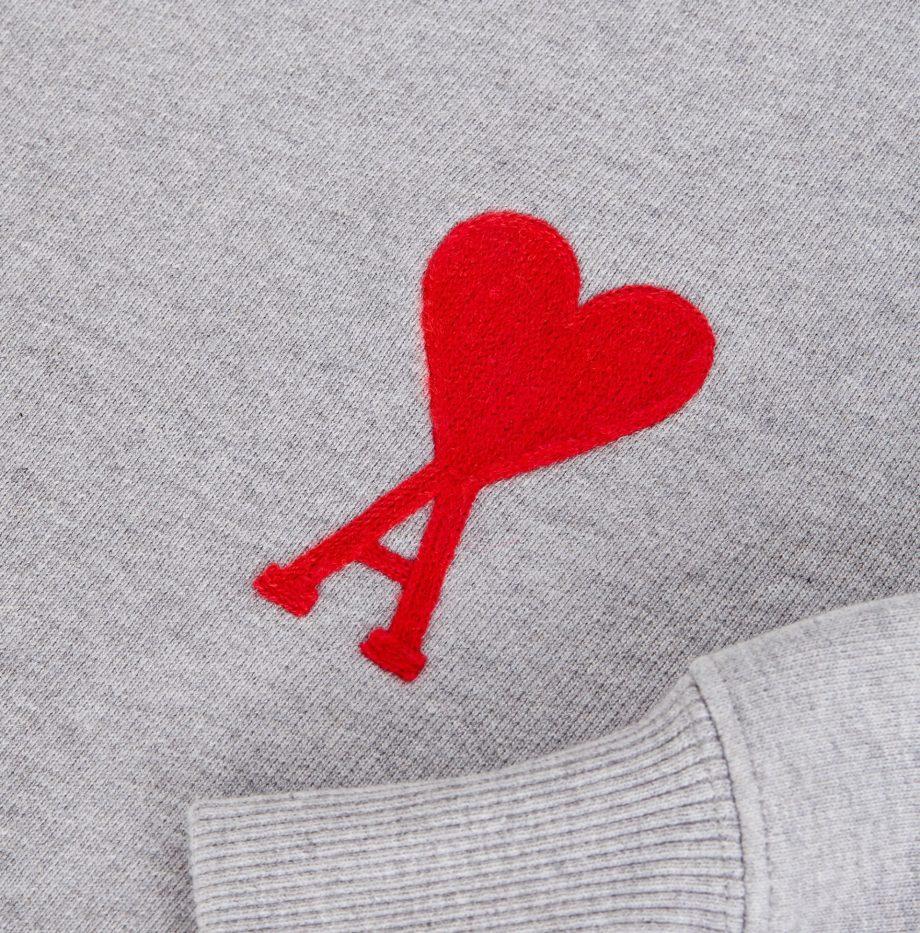SweatShirt Ami de Coeur Gris Clair