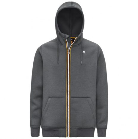 Berenger Sweat Zippé K-way Gris