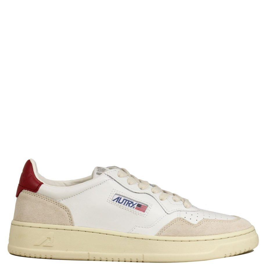 Basket_Autry_Medalis_White/Red