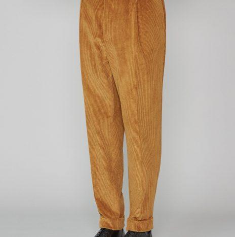 Pantalon Hugo Officine Générale Velours Côtelé Camel