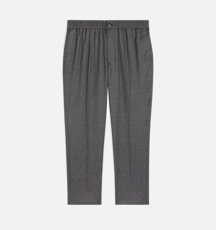Pantalon_Taille_Elastique_Ami_Gris_Chine_3