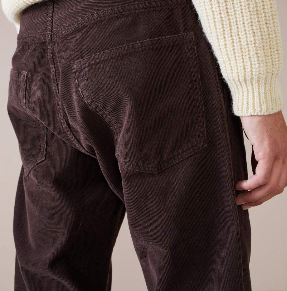 Pantalon Velours Bellerose Dark Brown