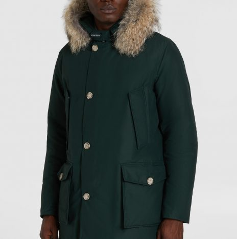 Parka WoolRich Arctic Dark Holly Green