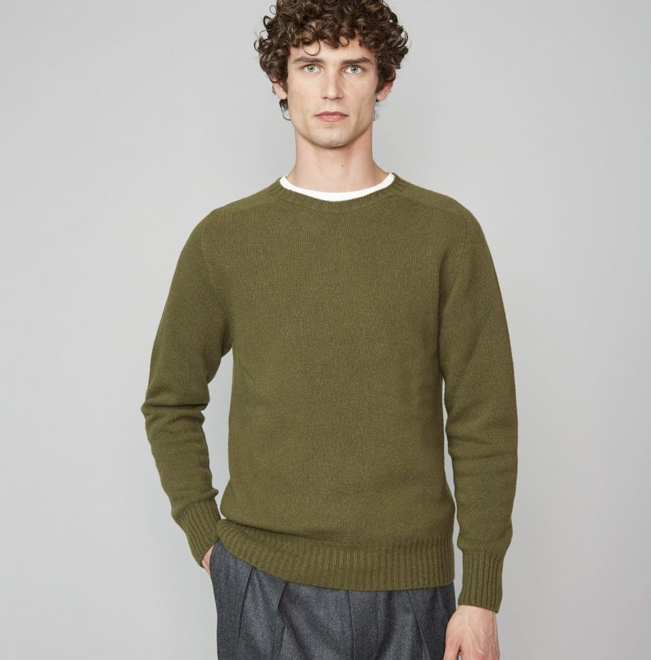 Pull Seamless Officine Générale Olive