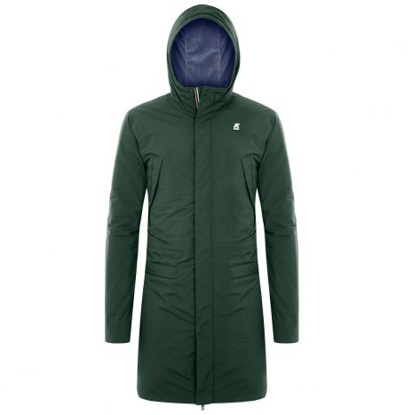 Remi Ripstop Marmotta Parka K-way Dark Forest