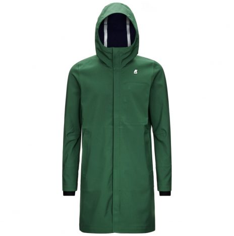 Thomas Bonded Parka K-way Dark Forest