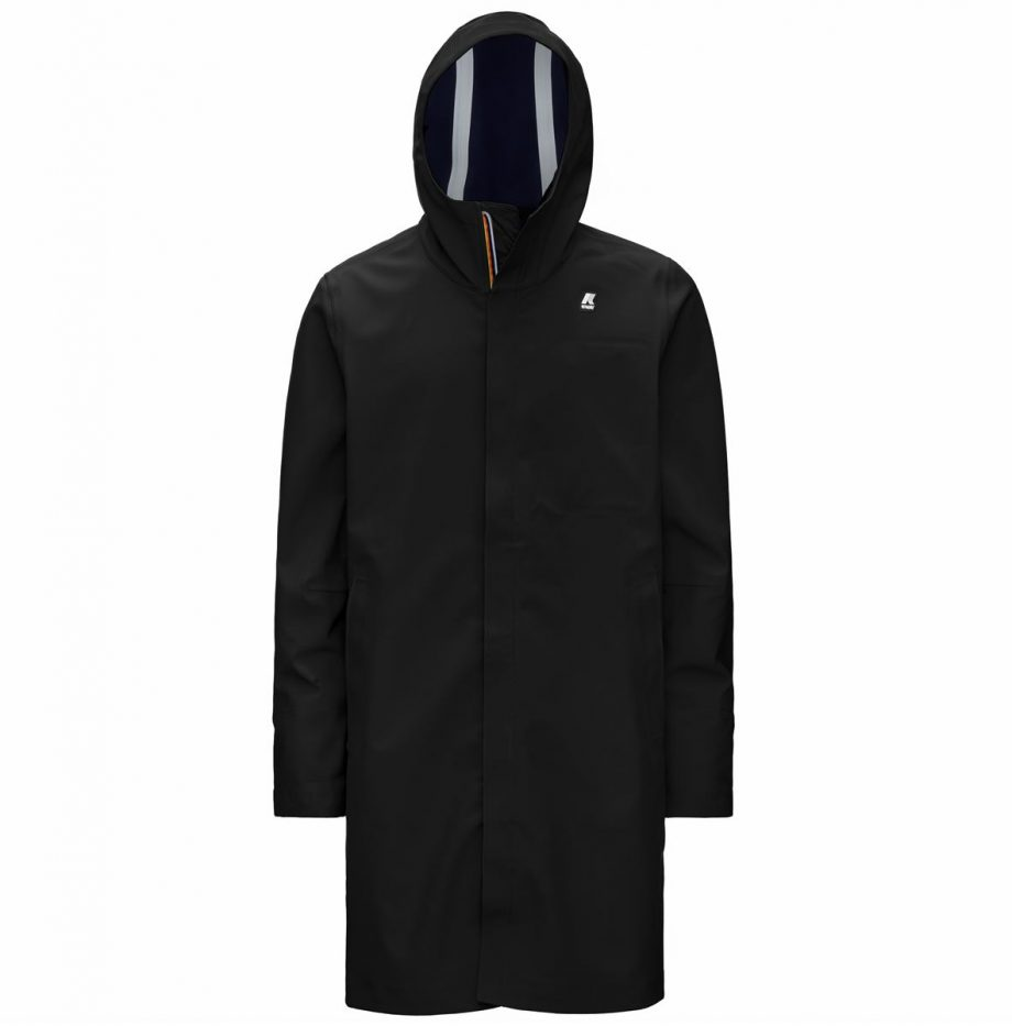 Thomas Bonded Parka K-way Noir