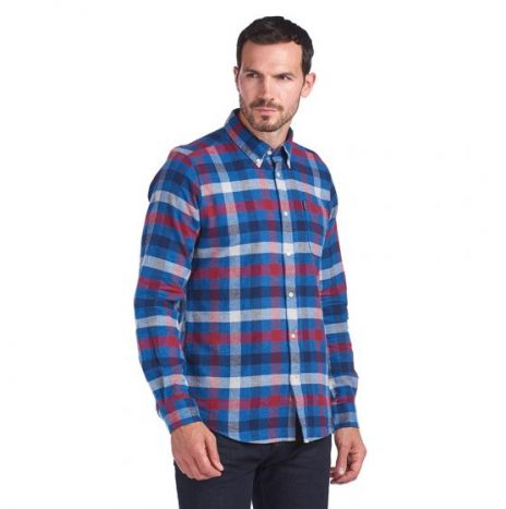 Chemise Barbour Country Check 5 Red