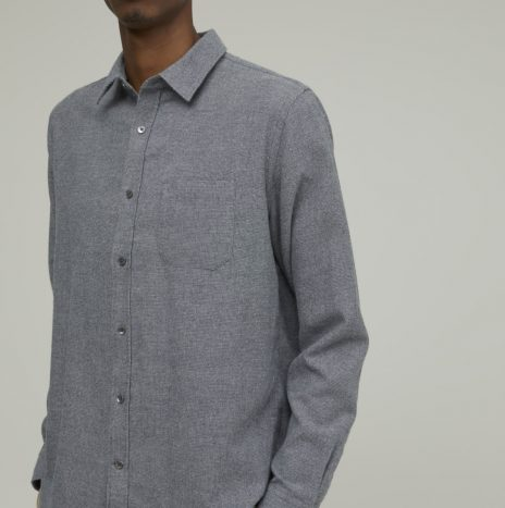 Chemise Coton Optique Closed Grey
