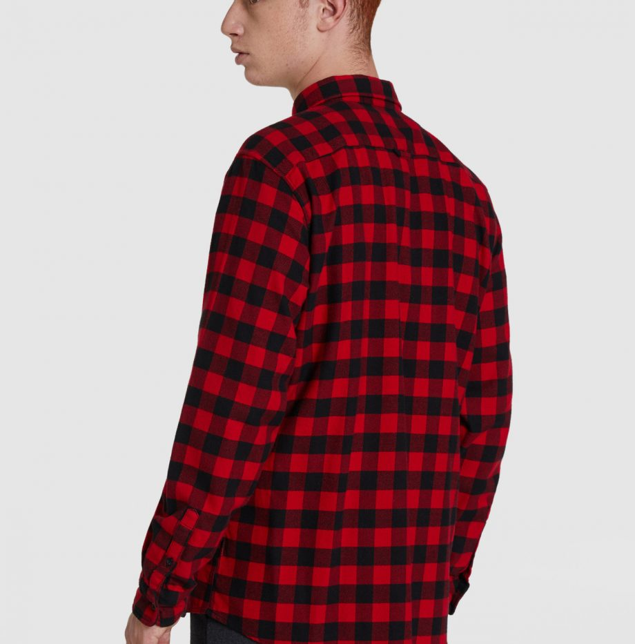 Chemise_Flanelle_Woolrich_Rouge