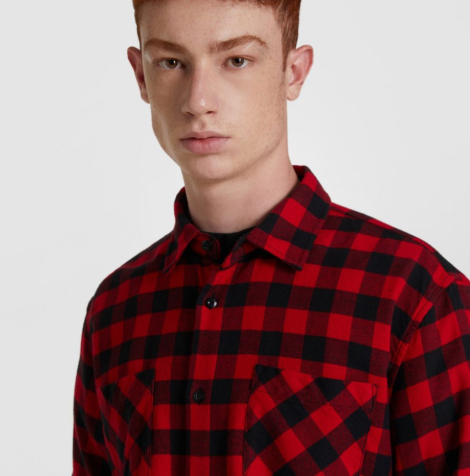 Chemise_Flanelle_Woolrich_Rouge_2