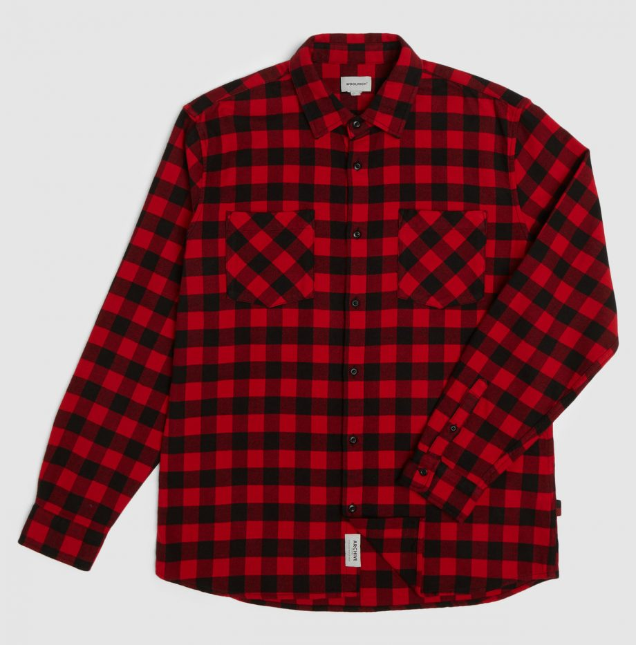 Chemise_Flanelle_Woolrich_Rouge_3