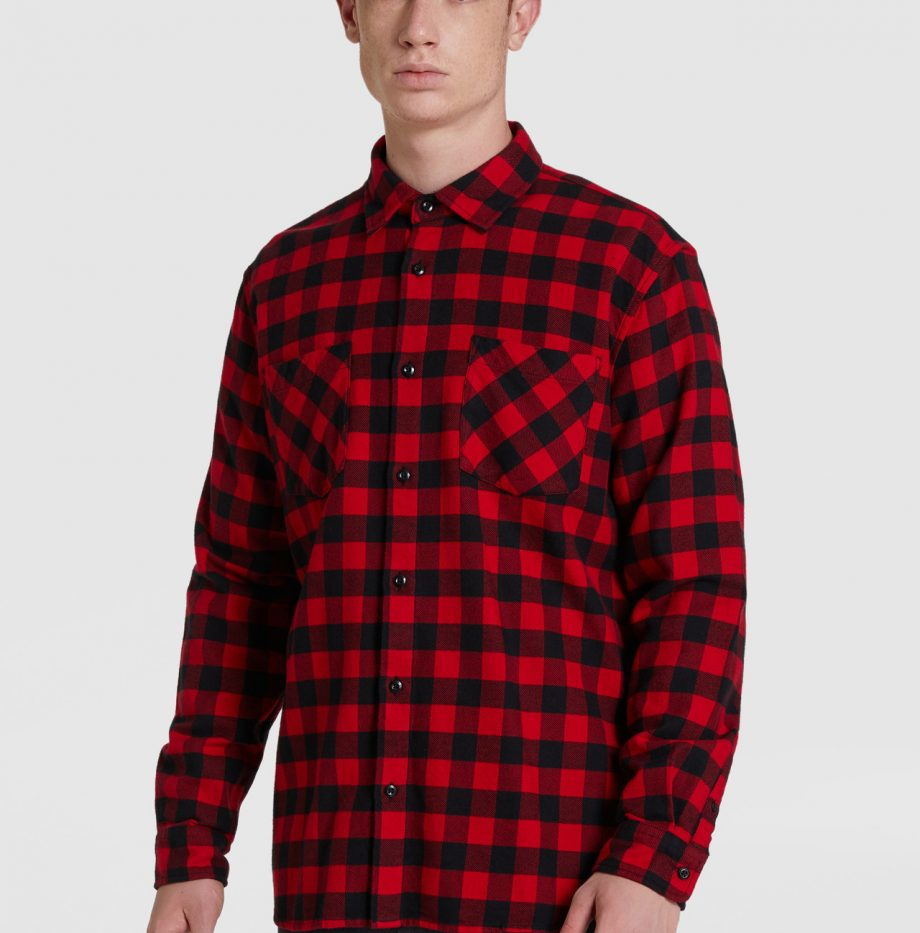 Chemise_Flanelle_Woolrich_Rouge_5