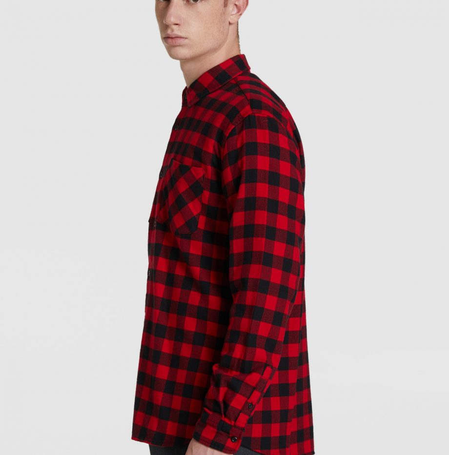 Chemise_Flanelle_Woolrich_Rouge_6