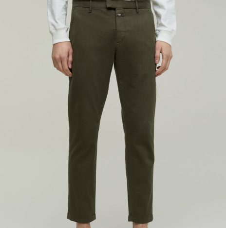 Chino Devon Slim Closed Chard Green