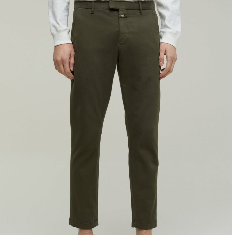 Chino Devon_Slim_Closed_Chard_Green