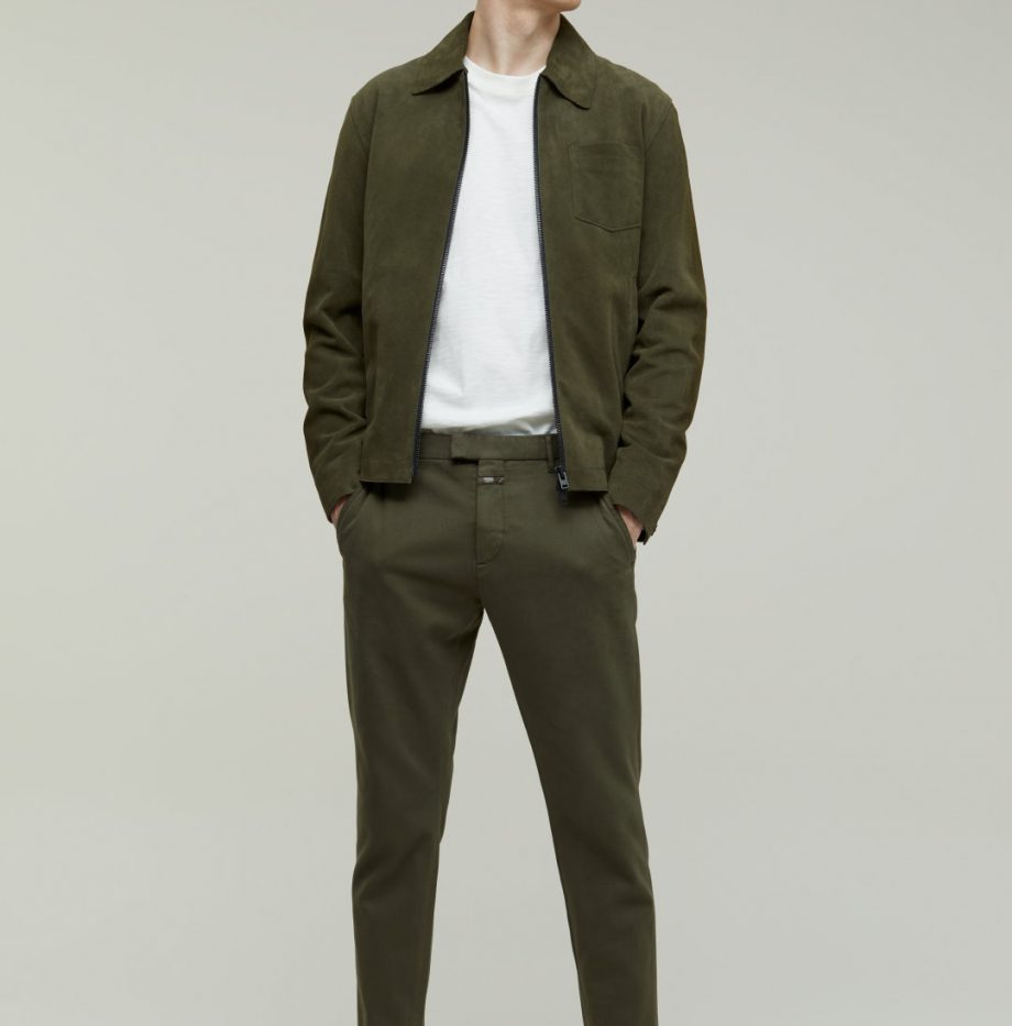 Chino Devon_Slim_Closed_Chard_Green_2
