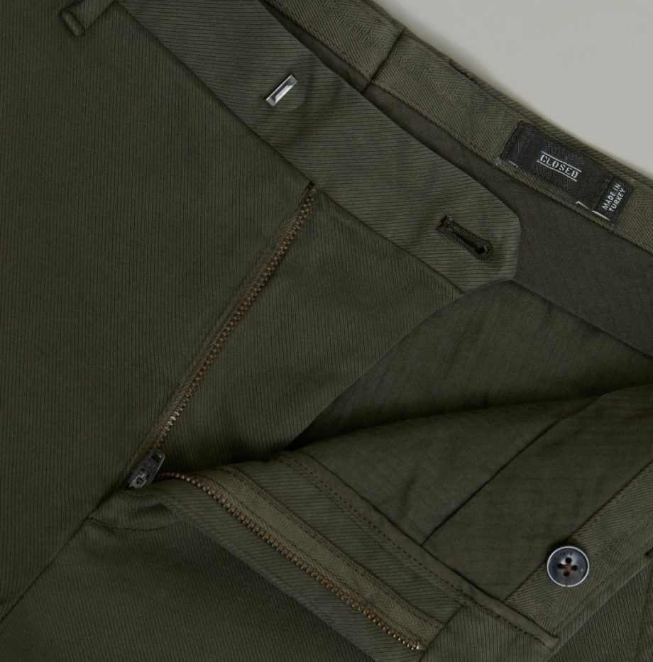 Chino Devon_Slim_Closed_Chard_Green_7