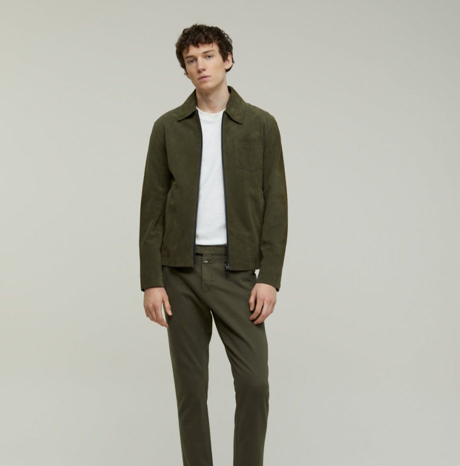 Chino Devon_Slim_Closed_Chard_Green_8
