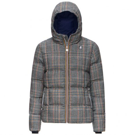 Doudoune K-way Jacques Thermo Wool Bleu Graphic