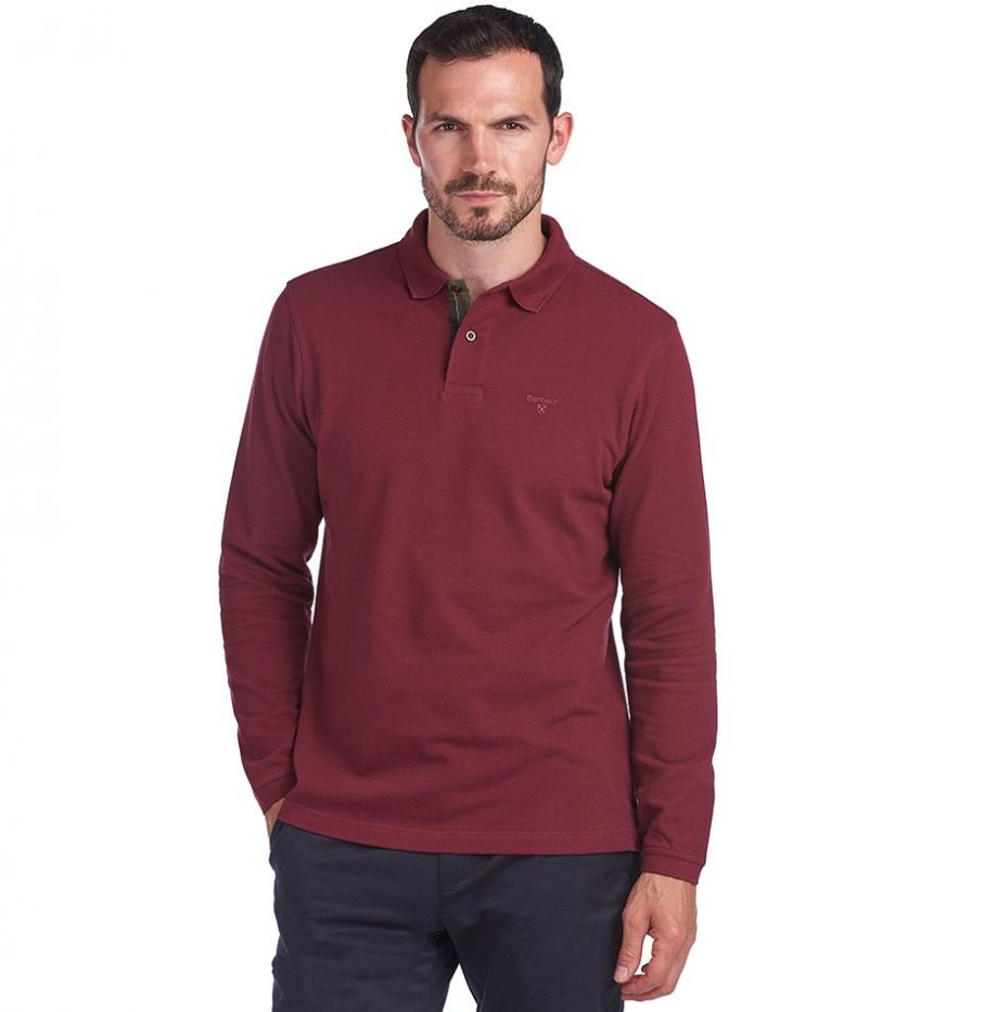 Polo_Barbour_Sports_Polo_Red