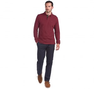 Polo Barbour Sports Polo Red