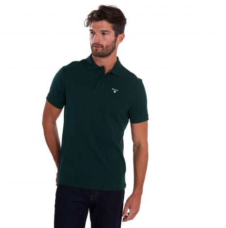 Polo Barbour Sports Polo Seaweed