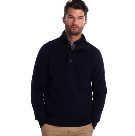 Pull Barbour Patch Half Marine