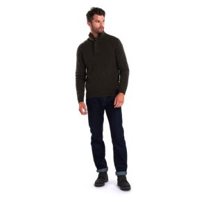Pull Barbour Patch Half Seaweed