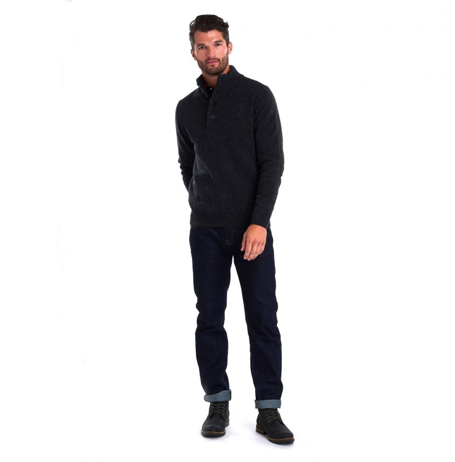 Pull_Barbour_Patch_Half_Zip Charcoal_4