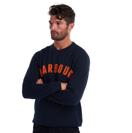 Sweat Barbour Prep Logo Navy