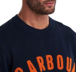 Sweat Barbour Prep Logo Navy