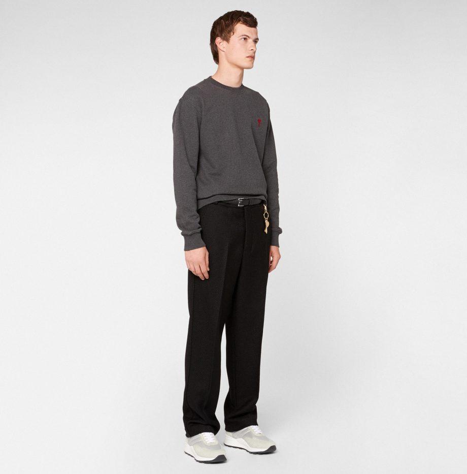 Sweatshirt_Ami_de_Coeur_Gris_Chiné