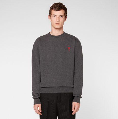 Sweatshirt Ami de Coeur Gris Chiné