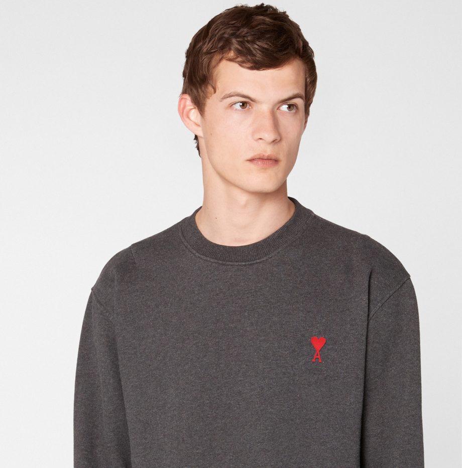 Sweatshirt_Ami_de_Coeur_Gris_Chiné_6
