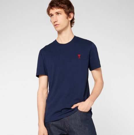T-shirt Ami de Coeur Marine