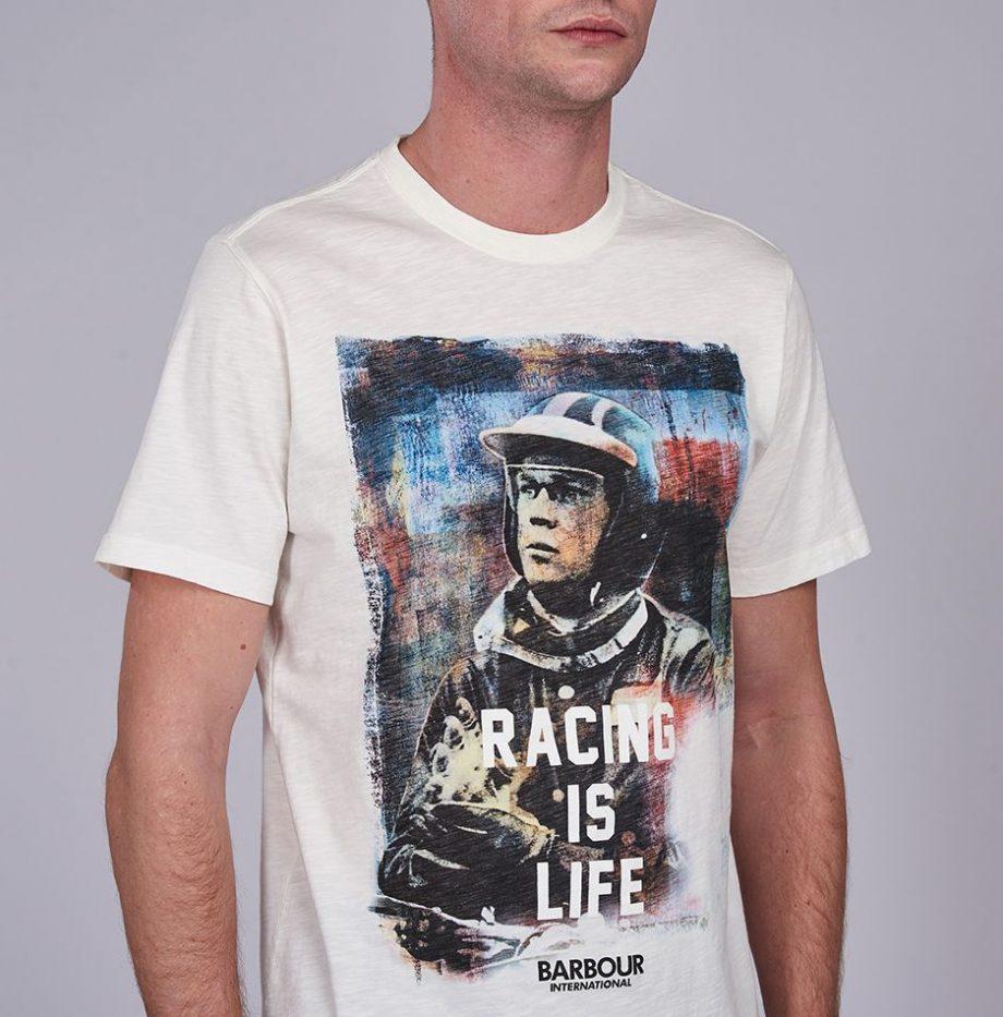 Tee-Shirt_Barbour_Steve_McQueen_Racing_is_Life_Whisper_White_2