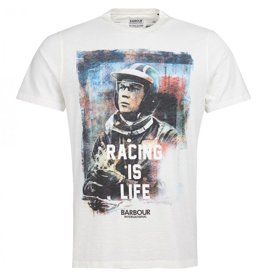 Tee-Shirt_Barbour_Steve_McQueen_Racing_is_Life_Whisper_White_3