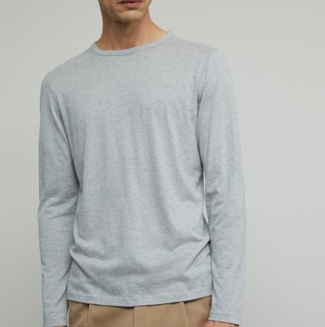 Tee-Shirt Cachemire Manches Longues Closed Grey