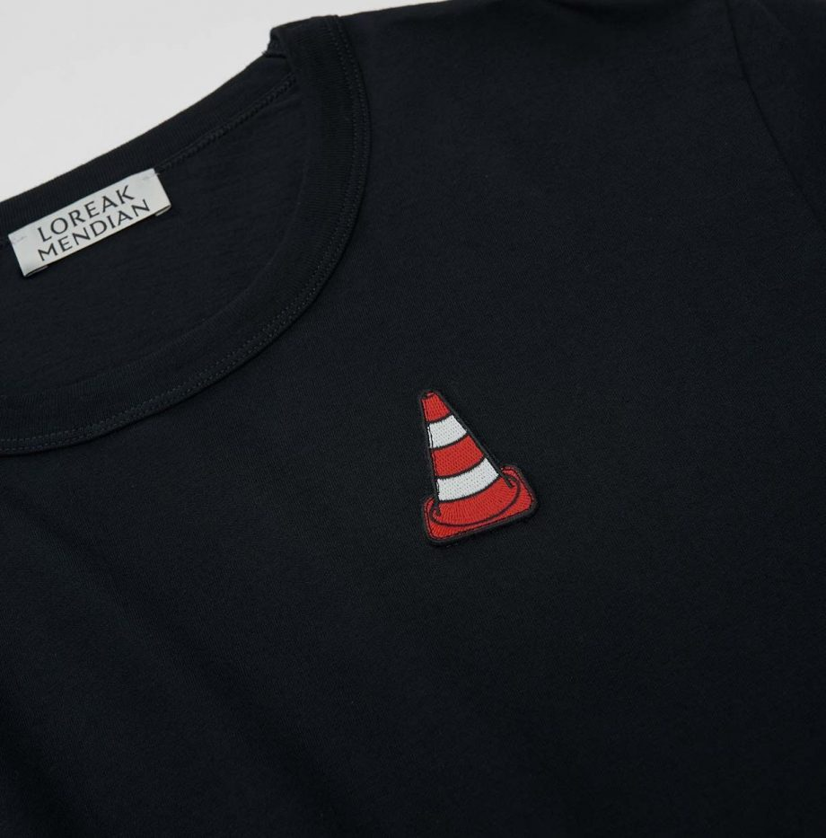 Tee-Shirt Loreak Mendian Kraftwerk Marine