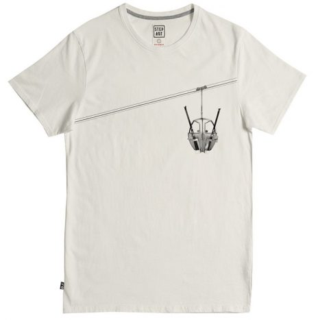 Tee-Shirt StepArt Poma Egg Vintage White